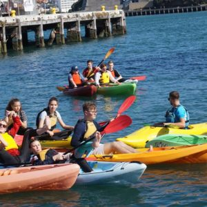 Kayaking Wellington