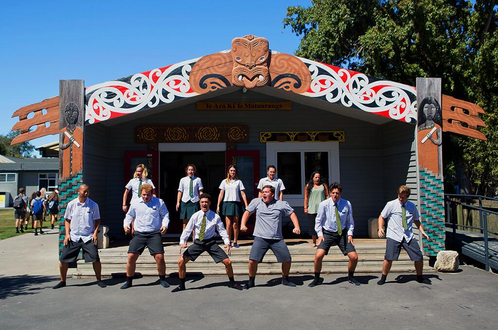 Schulbesuch in Neuseeland