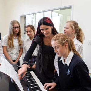 Schule in Neuseeland - Musik