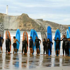 Schule in Neuseeland - Surfen