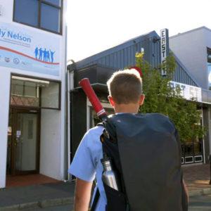 Study Nelson - Schuelerbesuch