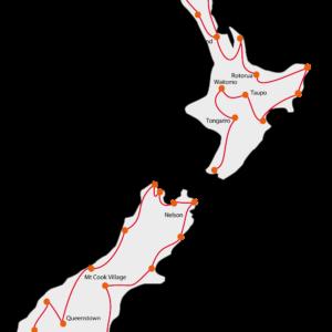 Elternreisen - Nord & Südinsel