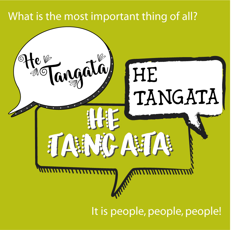 He tangata, he tangata, he tangata