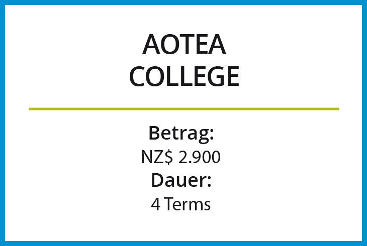 Stipendium Aotea College