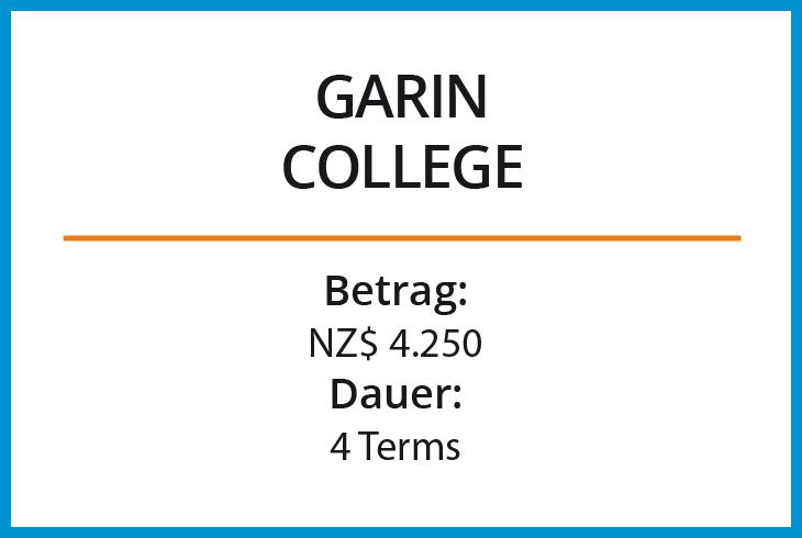 Stipendium Garin College