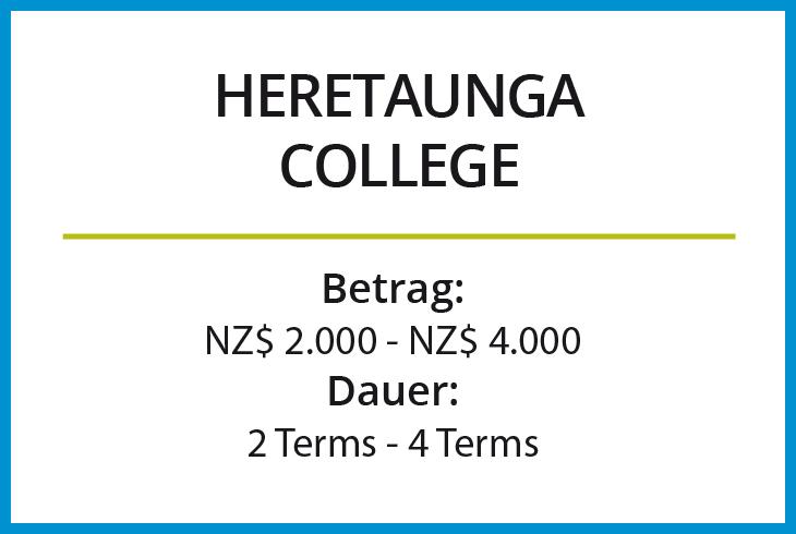 Stipendium Heretaunga College