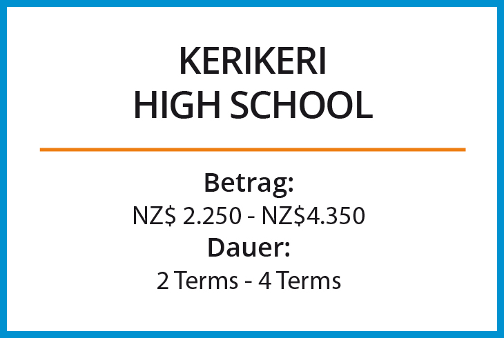 Stipendium Kerikeri High School