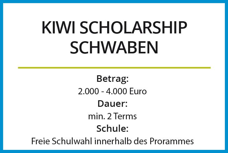Kiwi Scholarship Schwaben