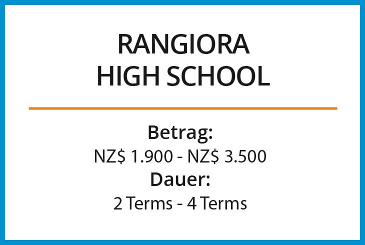 Stipendium Rangiora High School