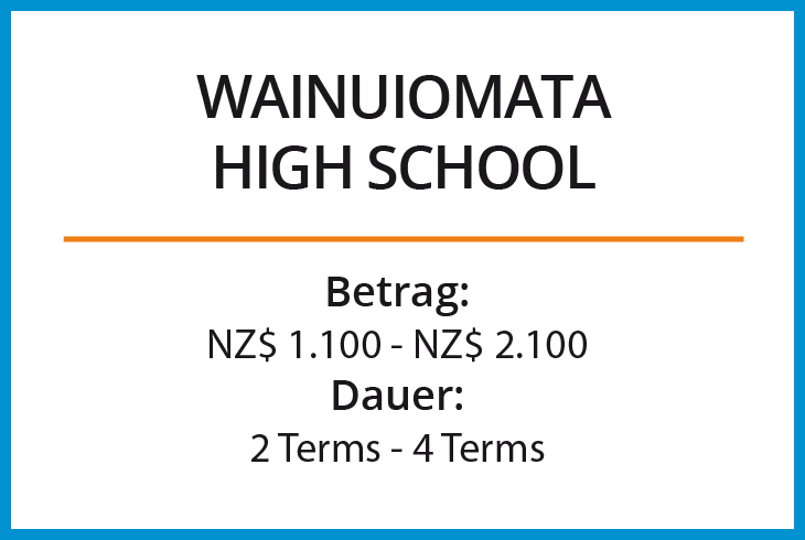 Stipendium Wainuiomata High School