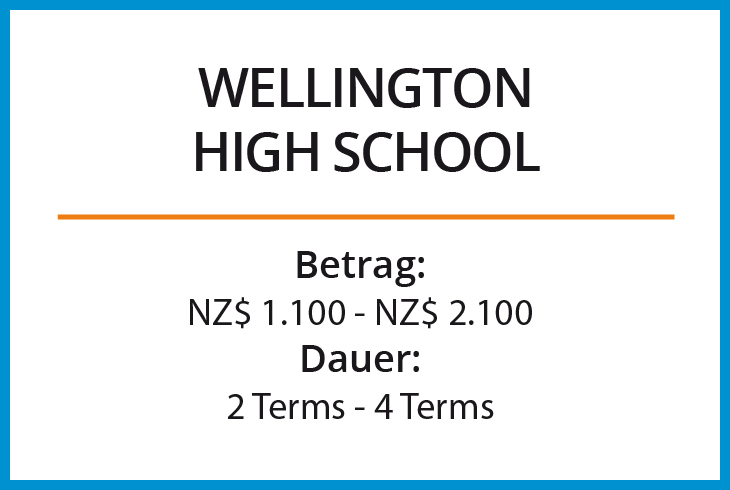 Stipendium Wellington High School