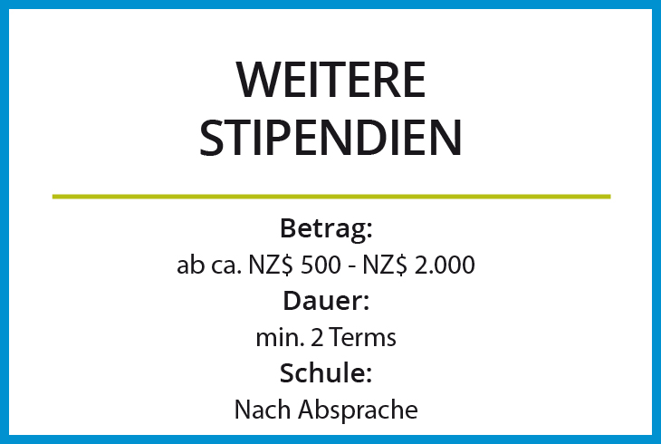 Select Plus Weitere Stipendien